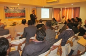shri-a-t-mishra-ifs-cf-delivering-lecture-to-the-forest-officers-ranchi-jharkhand